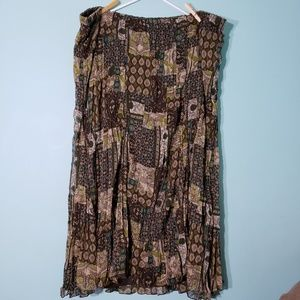 Russell Kemp NY - Patterned Maxi Skirt